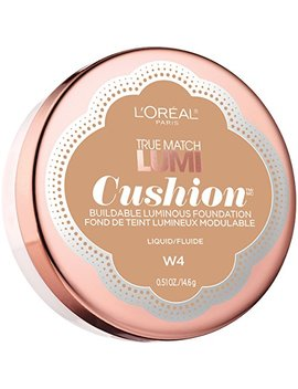 L'oréal Paris True Match Lumi Cushion Foundation, W4 Natural Beige, 0.51 Oz. by L'oreal Paris
