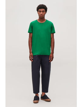 T Shirt With Rolled Edges by Cos