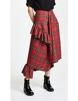 Morgan Plaid Skirt by Preen By Thornton Bregazzi