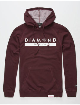 Diamond Supply Co. Stone Cut Bar Mens Hoodie by Diamond Supply Co.
