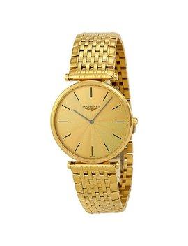 Longines La Grande Classique 18kt Gold Plated Mens Watch L47092428 by Longines