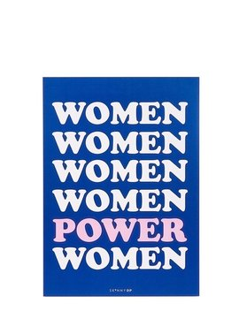 Women Power A4 Wall Print by Skinnydip