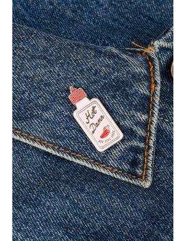 Hot Sauce Enamel Pin by Skinnydip