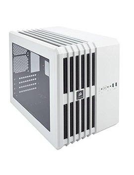 Corsair Cc 9011070 Ww Carbide Series Air 240 Windowed Mini Atx/Itx High Airflow Cube Case For Pc   White by Corsair