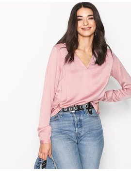 Vicava L/S V Neck Top Fav by Vila