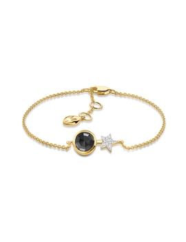 Black Nova Bracelet by Missoma