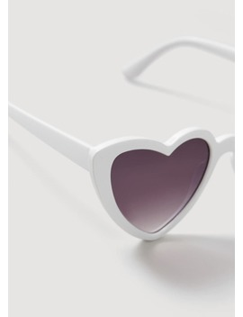 Heart Shape Sunglasses by Mango