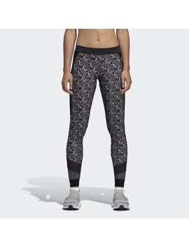 Run Printed Tights by Adidas