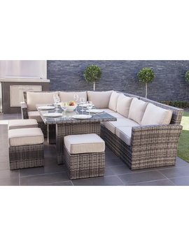Mercury Row Dengler 8 Piece Sectional Set With Cushions & Reviews by Mercury Row