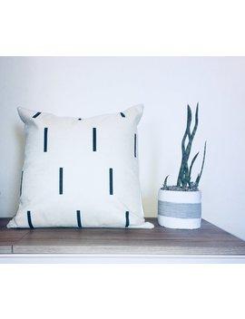 Mudcloth Pillow 18x18 by Casa Coni