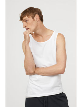 2 Pack Tanktops Regular Fit by H&M