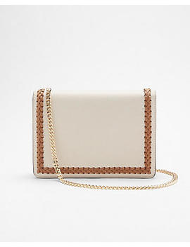 Whipstitch Chain Strap Crossbody Bag by Express