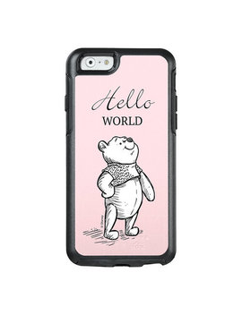 Winnie The Pooh Hello World I Phone 8/7 Case   Christopher Robin   Customizable by Disney