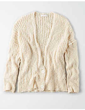 Button Front Cardi by American Eagle Outfitters