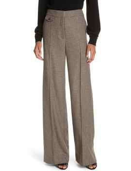 Jewell Houndstooth Trousers by Veronica Beard