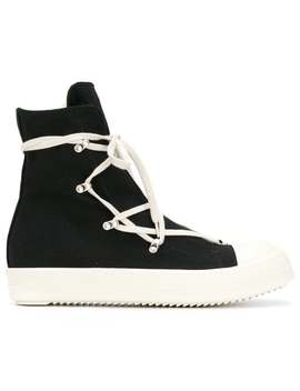 Rick Owens Drkshdw Hexagram Sneakershome Men Rick Owens Drkshdw Shoes Hi Tops by Rick Owens Drkshdw