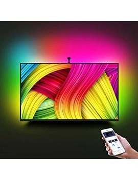 "Led Tv Backlight Kit With Camera,7.22ft Music Led Strip Lights,Rgb Smart Light Strip Ambient Bias Lighting,3 Modes With App (Video,Music,Custom),Compatible For Any Tv Signal (Not Only Hdmi), (46"" 60"") by Minger"