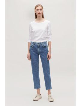 """28"""" Slim Crop Jeans by Cos"""