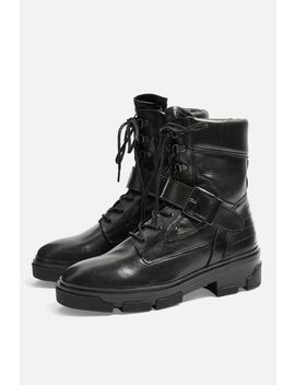 America Biker Boots by Topshop