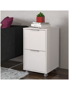 Ebern Designs Castelli 2 Drawer Vertical Filing Cabinet & Reviews by Ebern Designs