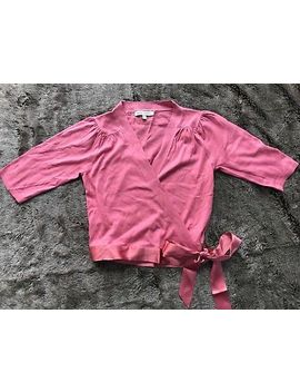 Beautiful Ladies Laura Ashley Ballet Style Pink Wrap Cardigan Size 10 by Laura Ashley