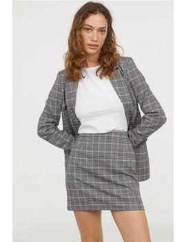 Spódnica W Kratę by H&M