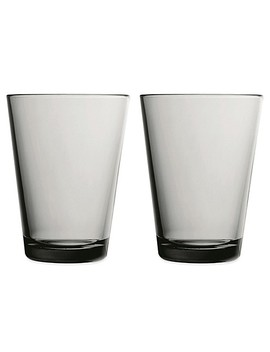 Iittala Kartio 13 Oz. Tumblers In Grey (Set Of 2) by Bed Bath And Beyond