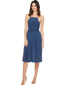 Schiffli Bib Dress by Lucky Brand