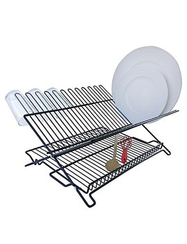 Better Housewares Folding Dish Rack In Black by Bed Bath And Beyond