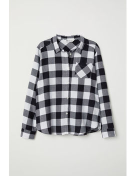 Plus Size Flannel Shirt by H&M