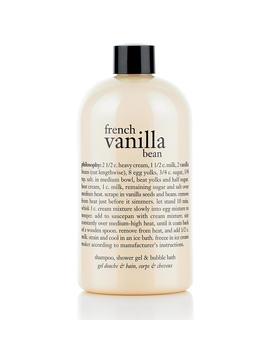 Shampoo, Shower Gel & Bubble Bath by French Vanilla Bean
