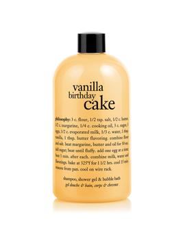Shampoo, Shower Gel & Bubble Bath by Vanilla Birthday Cake