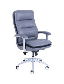 Beautyrest Platinum Sofil Executive Chair, Grey by Beautyrest