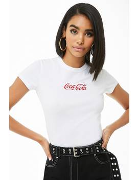 Coca Cola Embroidered Tee by Forever 21