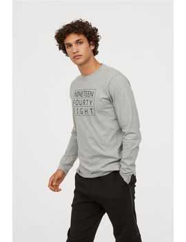 Long Sleeved Sports Shirt by H&M