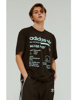 Kaval Black T Shirt by Adidas