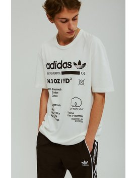 Kaval White T Shirt by Adidas