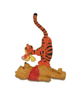 Winnie The Pooh And Tigger Figurine By Arribas Brothers by Disney