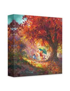 ''autumn Leaves Gently Falling'' Giclée On Canvas By James Coleman by Disney