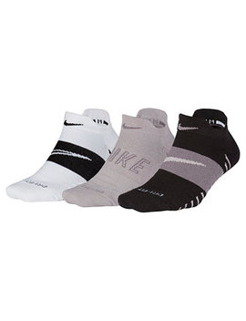 3 Pk. Dry Cushioned Low Rise Training Socks by Nike