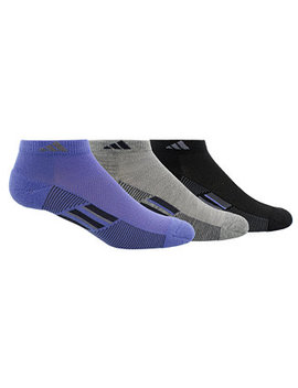 3 Pk. Cushioned Mesh Socks by Adidas