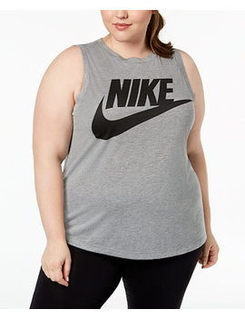 Sportswear Plus Size Essential Logo Sleeveless T Shirt by Nike