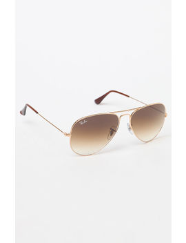 Havana Aviator Sunglasses by