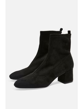 Blossom Ring Back Boots by Topshop