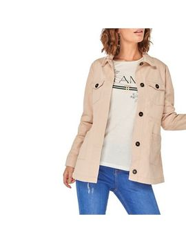 Dorothy Perkins   Blush Stitch Front Jacket by Dorothy Perkins