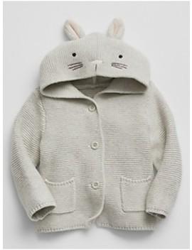 Bunny Garter Hoodie Sweater by Gap