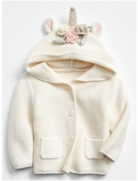 Unicorn Garter Sweater by Gap