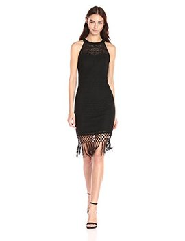 Guess Women's Fringe Illusion Dress by Guess