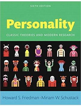 Personality: Classic Theories And Modern Research by Amazon