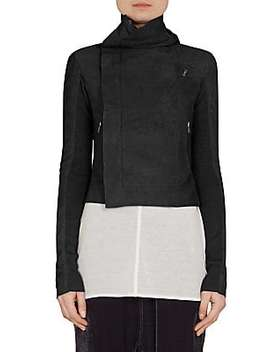 Classic Long Sleeve Blazer by Rick Owens
